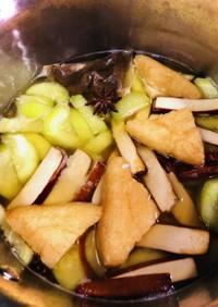 台湾 薬膳料理 きゅうりと豆腐のスープ♡