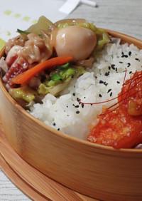 八宝菜&エビチリ弁当【JA福井県】