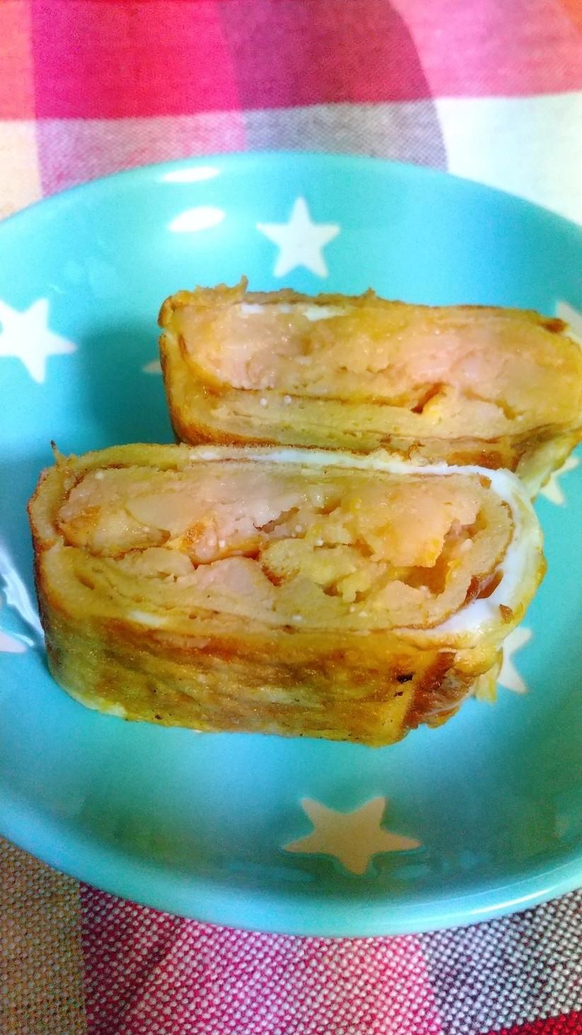 タラモサラダ入り卵焼き