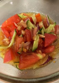 ♡トマトのオリーブオイルサラダ♡