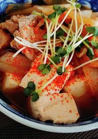 肉豆腐☆キムチ入り