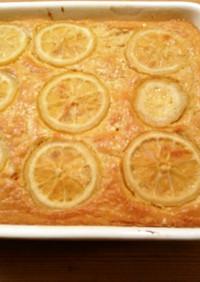 蜂蜜漬けレモンで HKM レモンケーキ