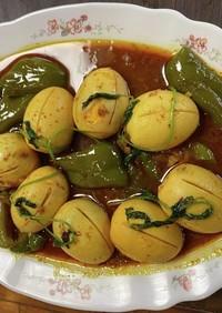 ミャンマーの卵料理