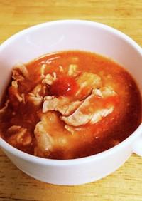 豚肉とトマトの煮込み トマトの大量消費に