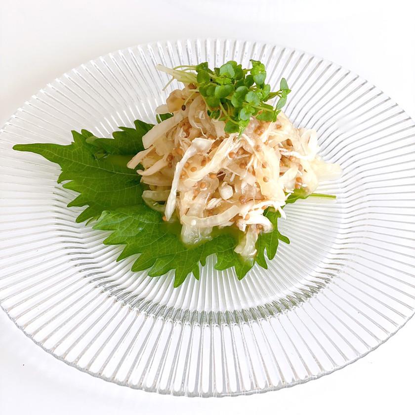 玉ねぎのプチプチサラダ