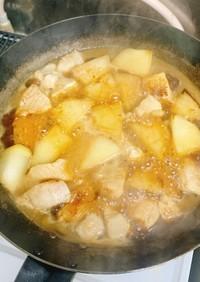 鶏肉と冬瓜の鶏がらスープ煮込み