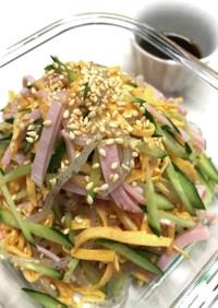 低カロリー★しらたきで中華サラダ