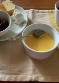 卵黄で作る豆乳プリン