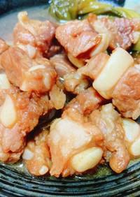 豚バラ軟骨のウィスキー煮