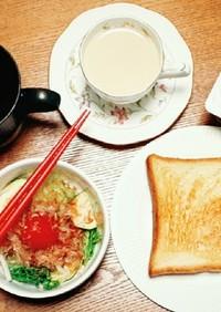 焼くだけ高級トーストの贅沢版朝食セット