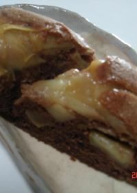 炊飯器で・・・りんごのショコラケーキ