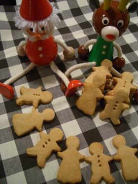 クリスマス☆和風ジンジャーマンクッキー