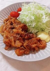 韓国風焼肉 ヤンニョム豚カルビ風