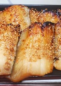 タチウオの味醂干し焼き
