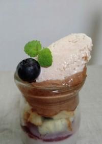 自家製ジャム作るアイスクリーム