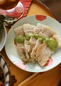 豚もも肉の塩麹蒸し☆ワンダーシェフ楽ポン