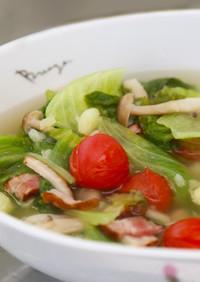 【レタス大量消費】レタススープ