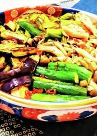 豚とたっぷり野菜の焼き浸し