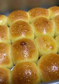 冷蔵庫発酵のちぎりパン