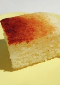 HKMでしっとりケーキ 魚焼きグリルで