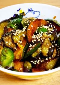 夏野菜のスタミナ炒め
