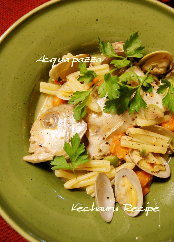 アクアパッツァ うちの基本レシピ