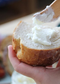 おうちでじゃりパン!塩みるくバターラスク