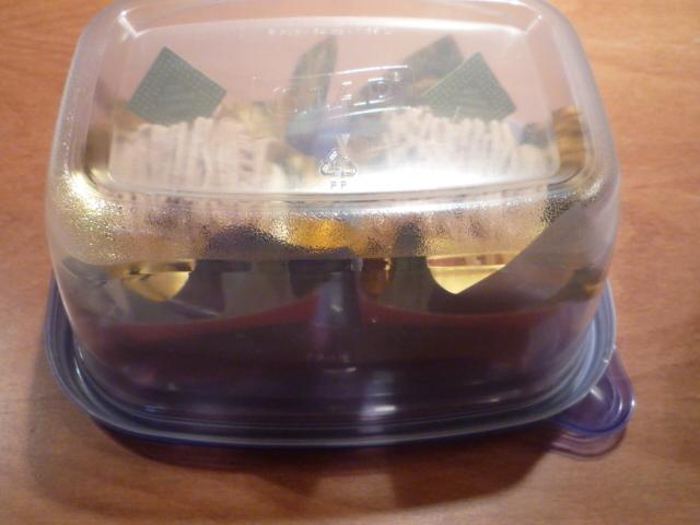 ラップなし♪残ったケーキの保存方法☆