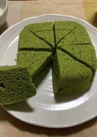 おからパウダーの抹茶蒸しパン