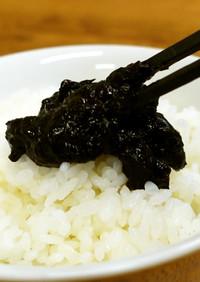 大量消費レシピ きくらげと海苔の佃煮