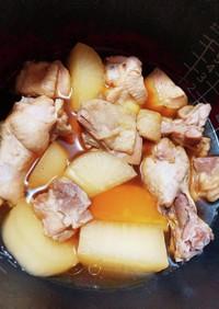 鶏肉と大根の炊飯器ホロホロ煮