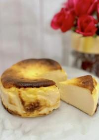 グルテンフリー♪濃厚バスクチーズケーキ