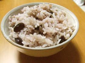 健康食の黒豆ご飯