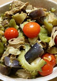 お鍋一つで簡単!夏野菜と豚肉の酢醤油煮