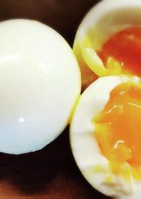 綺麗に殻がむける!半熟ゆで卵の作り方