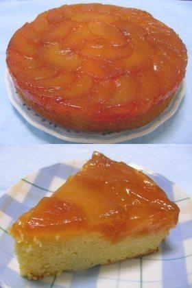 カラメルりんごのアップサイドダウンケーキ
