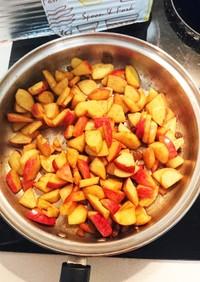 りんごの簡単デザート
