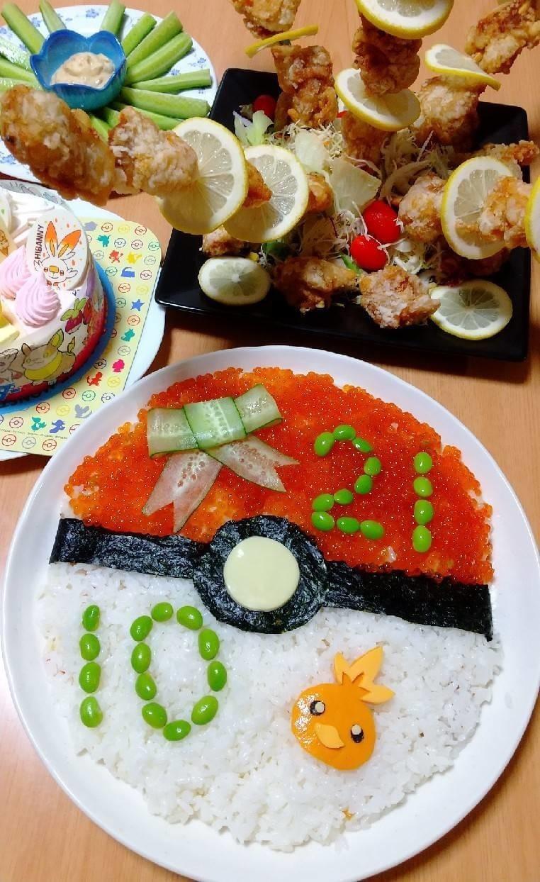 モンスターボール☆ちらし寿司