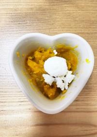 【離乳食中期】レンジでカッテージチーズ