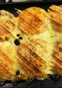 簡単 カリふわモチっとチーズ冷凍たこ焼き