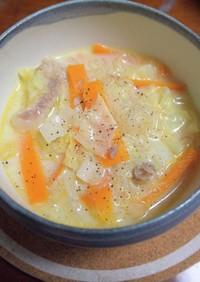 長崎ちゃんぽん風!春雨スープ