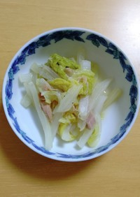 白菜のくたくた煮