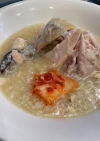 病後のリカバリー食♪参鶏湯!