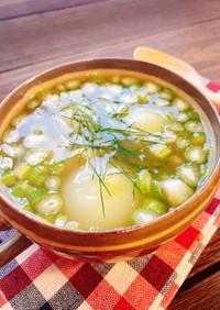 甘い香り♡フェンネルとペコロスのスープ