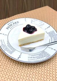 乾パンと豆腐の脂質減レアチーズケーキ