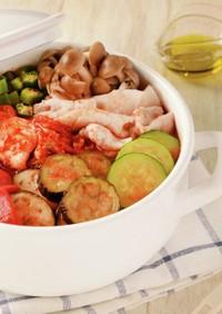 イタリアンキムチ鍋