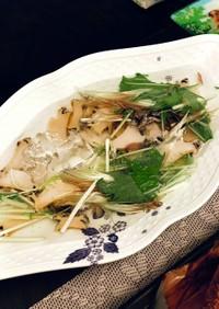 涼感たっぷり☆アワビの水貝