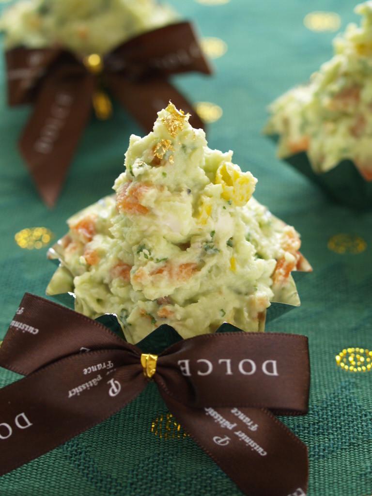 クリーミークリスマスツリーサラダ