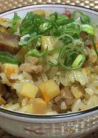 炊飯器で作る中華風おこわ