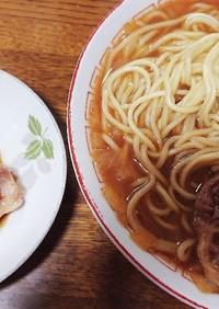 簡単鶏ガラ豚骨ラーメン